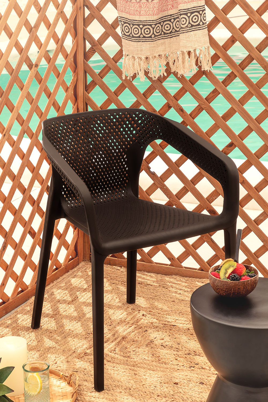 Buitenstoel met armleuningen Frida, galerij beeld 1