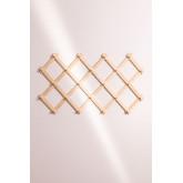 Ixi dubbele houten wandkapstok, miniatuur afbeelding 2