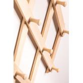 Ixi dubbele houten wandkapstok, miniatuur afbeelding 5