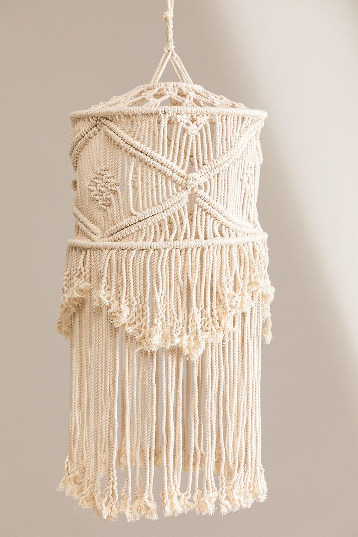 Teala Macrame lampenkap, galerij beeld 1
