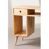 Arlan houten opbergbureau, miniatuur afbeelding 5