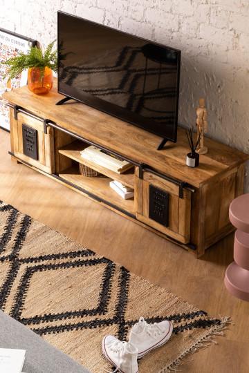 Uain Tv-meubel van mangohout