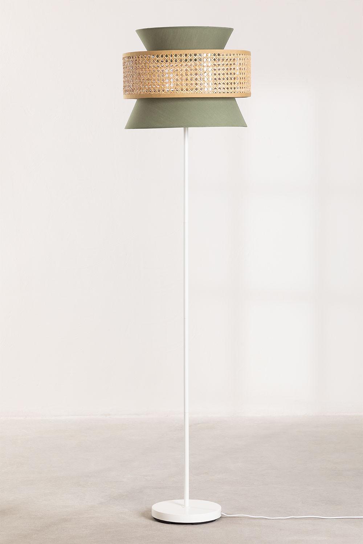 Yereh rotan vloerlamp, galerij beeld 1