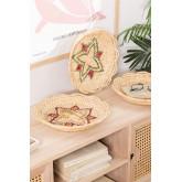 Set van 3 Siona decoratieve borden, miniatuur afbeelding 1