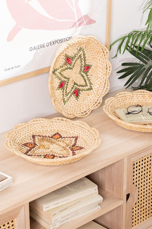 Set van 3 Siona decoratieve borden, galerij beeld 1