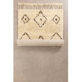 Tapijt van katoen en wol (215x125 cm) Ariana, miniatuur afbeelding 2