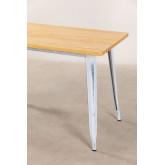 LIX Vintage houten tafel (120x60), miniatuur afbeelding 4