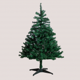 Kerstbomen en decoraties