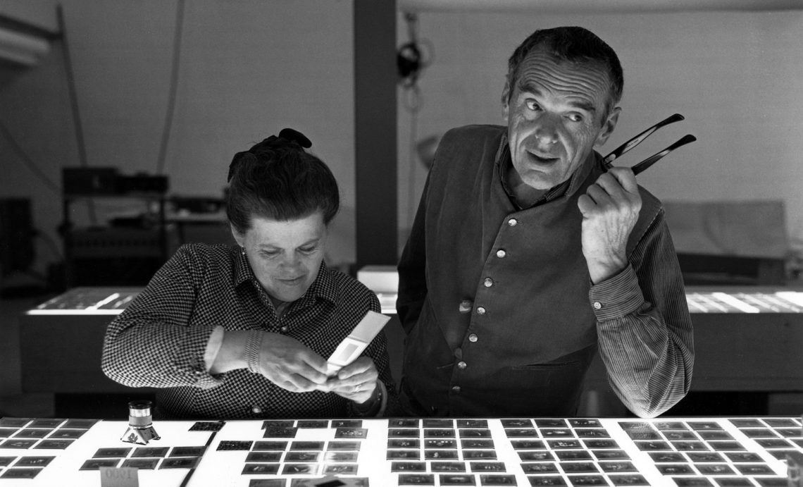 Eames! The couple that changed the world of design