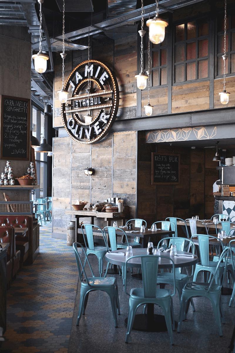 decorar tu bar o restaurante inspirado en el Jamie's Italian